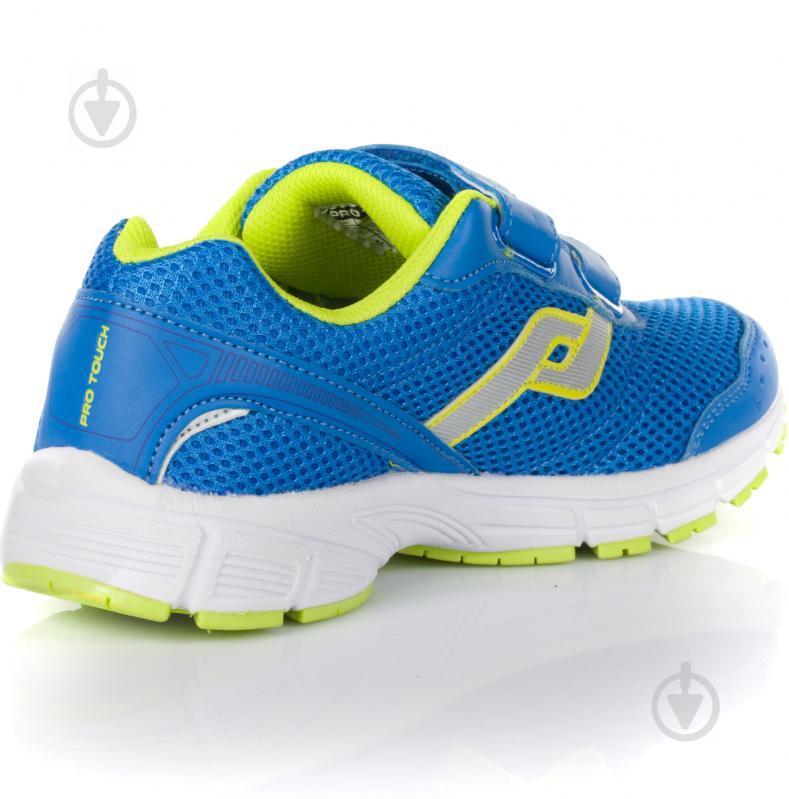Кроссовки Pro Touch Amsterdam 239624-910542 р. 6 голубой с зеленым - фото 3