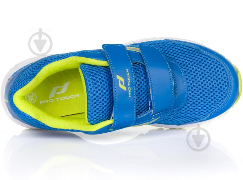 Кроссовки Pro Touch Amsterdam 239624-910542 р. 6 голубой с зеленым - фото 4