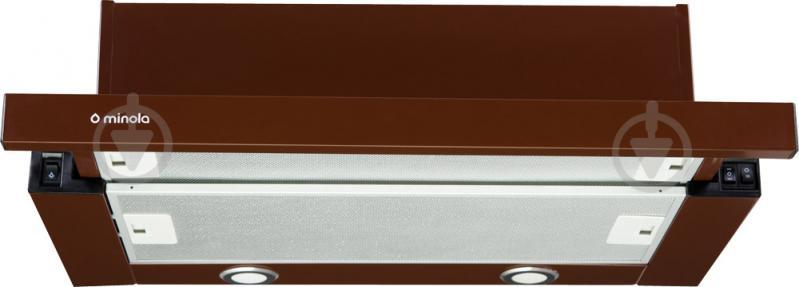 Вытяжка Minola HTL 6012 BR 450 LED - фото 1
