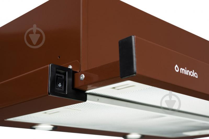 Вытяжка Minola HTL 6012 BR 450 LED - фото 3