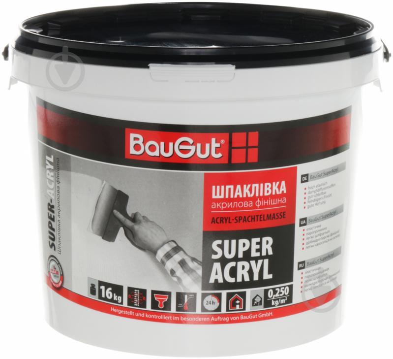 Шпаклевка BauGut Super Finish 16 кг - фото 1