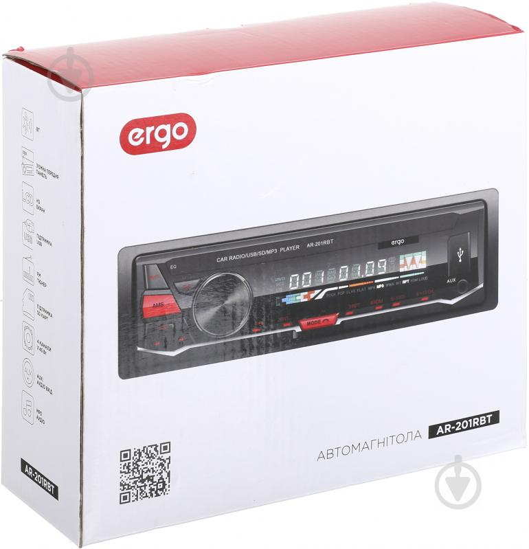 Автомагнітола Ergo AR-201RBT SD/MP3/USB - фото 7