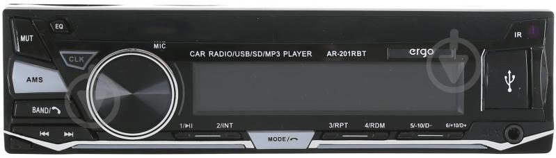 Автомагнітола Ergo AR-201RBT SD/MP3/USB - фото 1