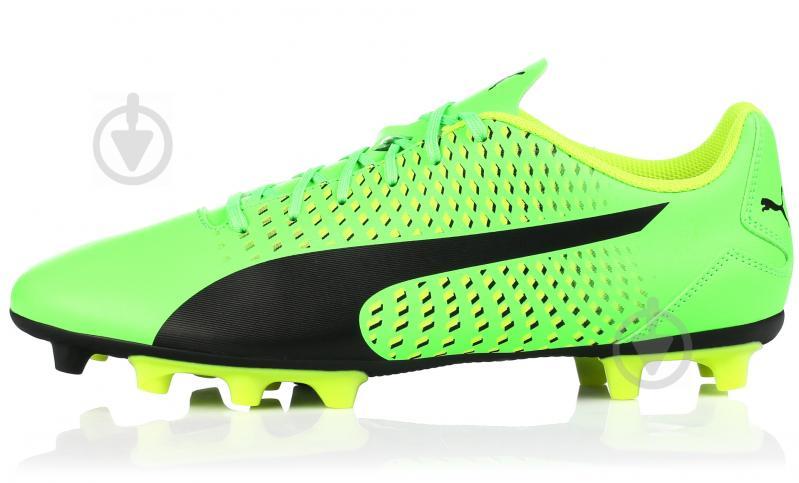 Футбольные бутсы Puma Adreno III FG 10404601 р. 10 зеленый - фото 1