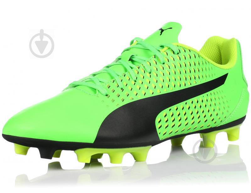 Футбольные бутсы Puma Adreno III FG 10404601 р. 10 зеленый - фото 2