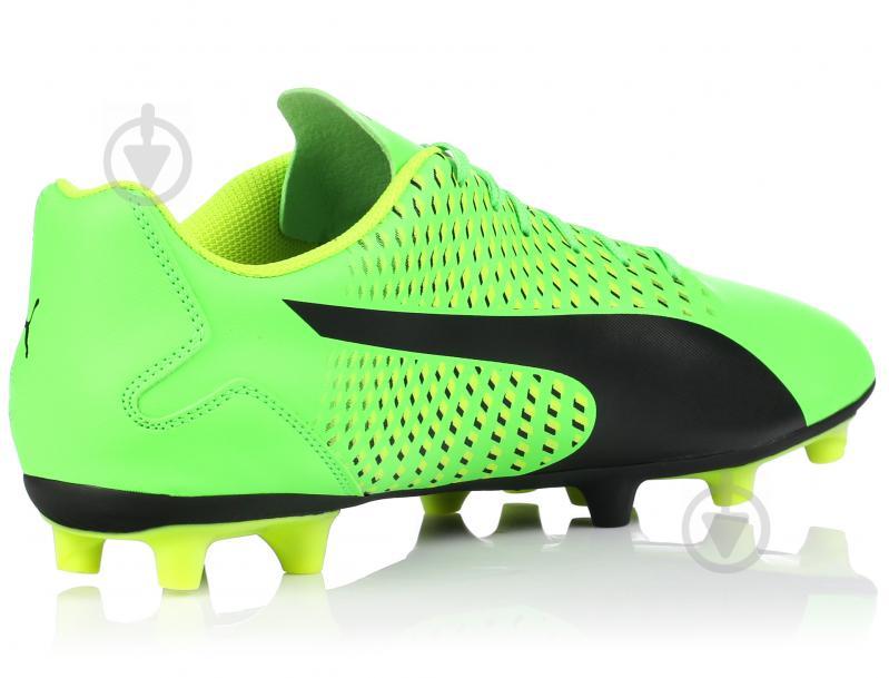 Футбольные бутсы Puma Adreno III FG 10404601 р. 10 зеленый - фото 3