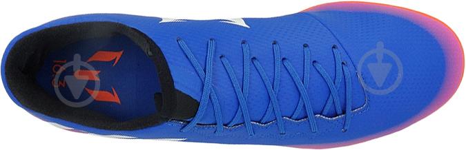 Футбольные бутсы Adidas MESSI 16.3 IN BA9018 р. 44,5 сине-розовый - фото 4