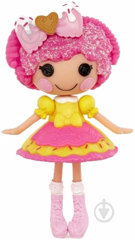 Лялька Lalaloopsy Печенюшка-ласунка з аксесуарами 7,5 см 536246 - фото 1