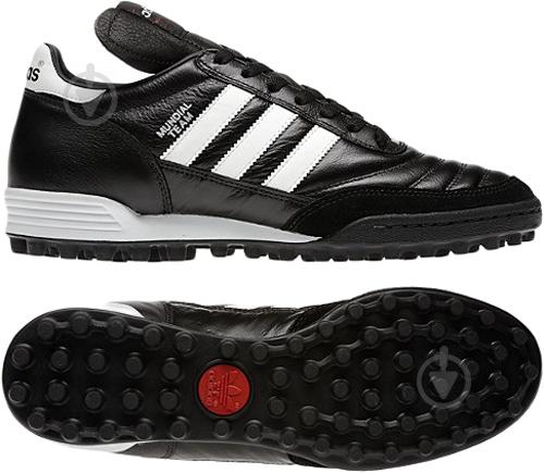 Футбольные бутсы Adidas Mundial Team TT 019228 р. 42,5 черный - фото 2
