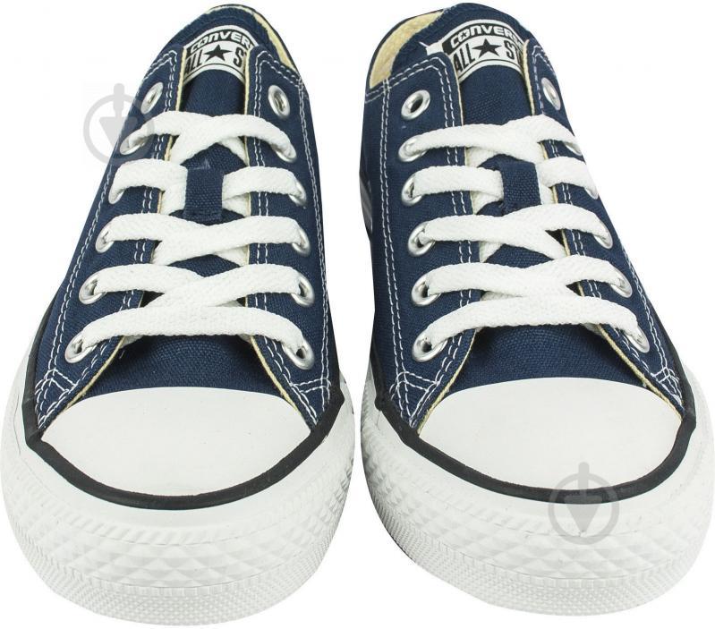 Кеды Converse Chuck Taylor Classic OX M9697C р. 9,5 синий - фото 4