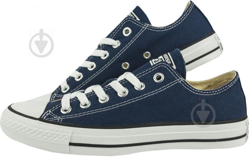 Кеды Converse Chuck Taylor Classic OX M9697C р. 9,5 синий - фото 1