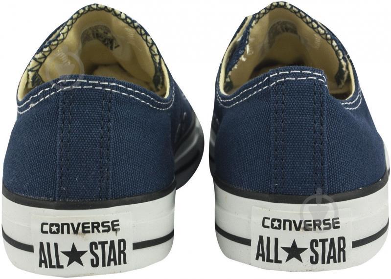 Кеды Converse Chuck Taylor Classic OX M9697C р. 9,5 синий - фото 5