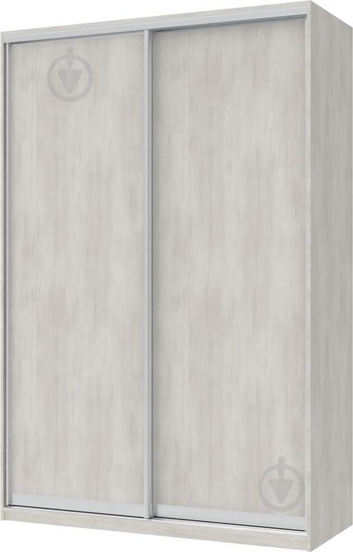Шкаф-купе Doros 1200x600x2250 мм белое дерево двери / ДСП
