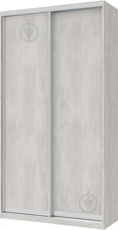 Шафа-купе Doros 1200x450x2250 мм біле дерево двері ДСП