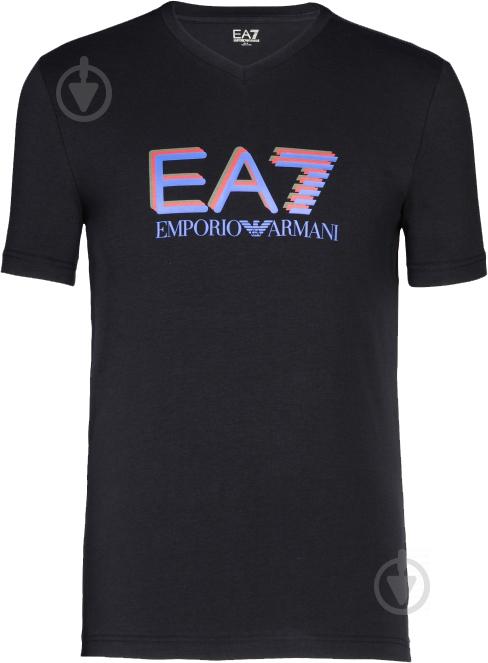 Футболка EA7 6XPT57-PJ03Z-1200 р. L черный - фото 1