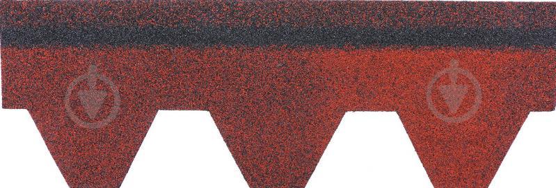 Бітумна черепиця  RoofOK Сота червона 3 кв.м - фото 3