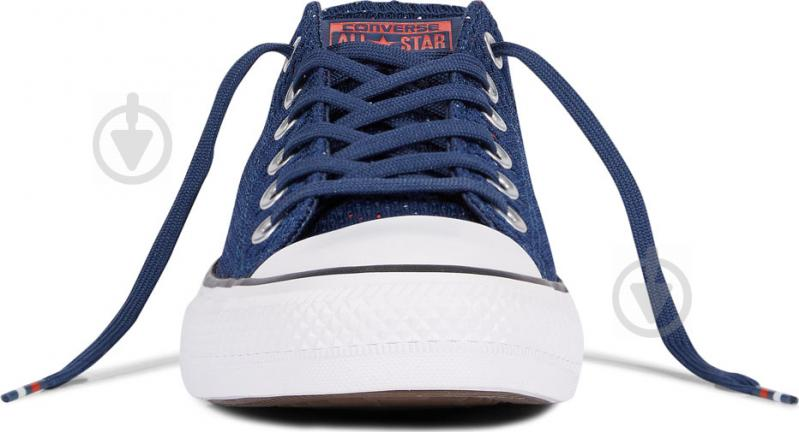 Кеды Converse Chuck Taylor All Star 159684C р. 8,5 синий - фото 4