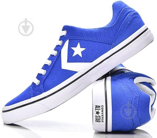 Кеды Converse El Distrito 159788C р. 8,0 синий - фото 1