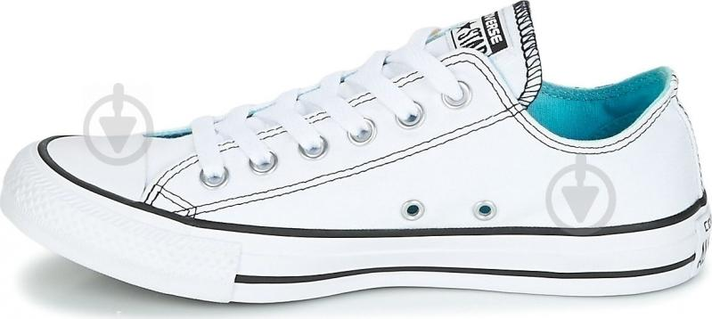 Кеды Converse Chuck Taylor All Star 159715C р. 6,5 белый - фото 3