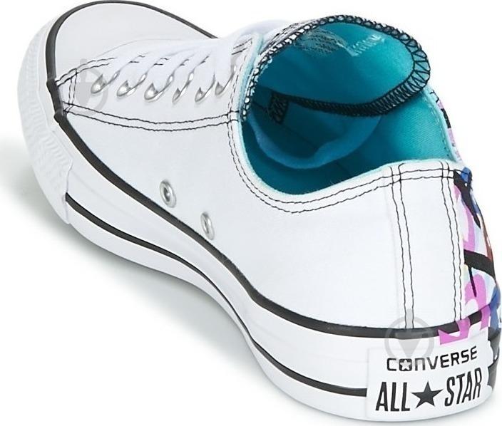 Кеды Converse Chuck Taylor All Star 159715C р. 6,5 белый - фото 5