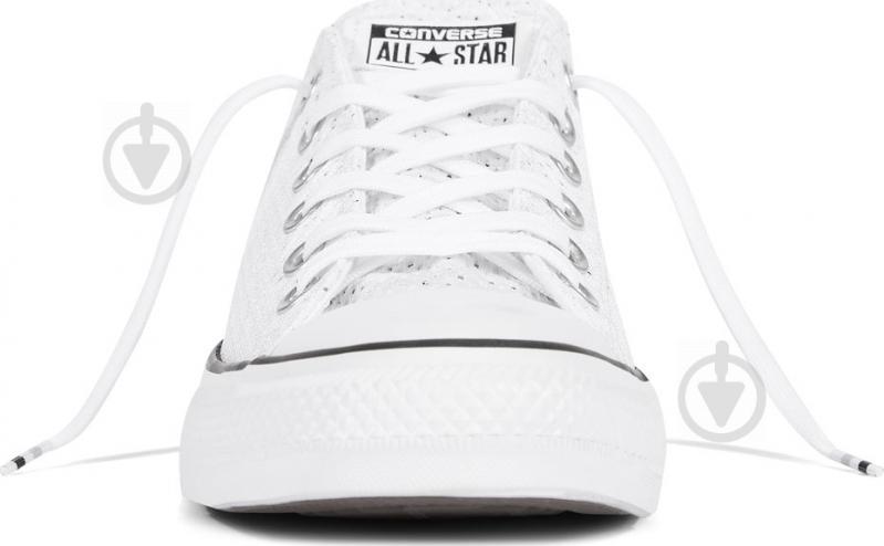 Кеды Converse Chuck Taylor All Star 159683C р. 11,5 белый - фото 4