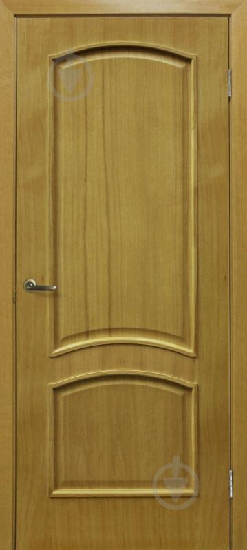 Дверне полотно ОМіС Капрі ПГ 600 мм дуб натуральний тонований - фото 1