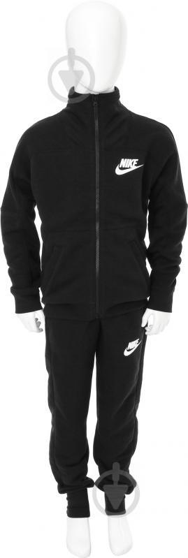 Костюм Nike G NSW TRK SUIT FT AW1718 860069-010 р. L черный - фото 1