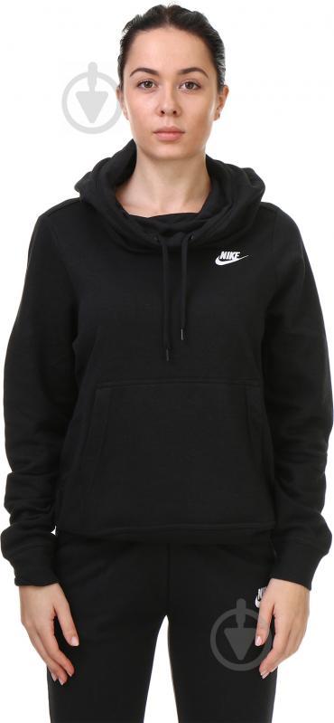 Толстовка Nike W NSW FNL FLC р. M чорний 853928-010 - фото 2