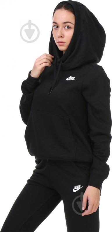 Толстовка Nike W NSW FNL FLC р. M чорний 853928-010 - фото 3