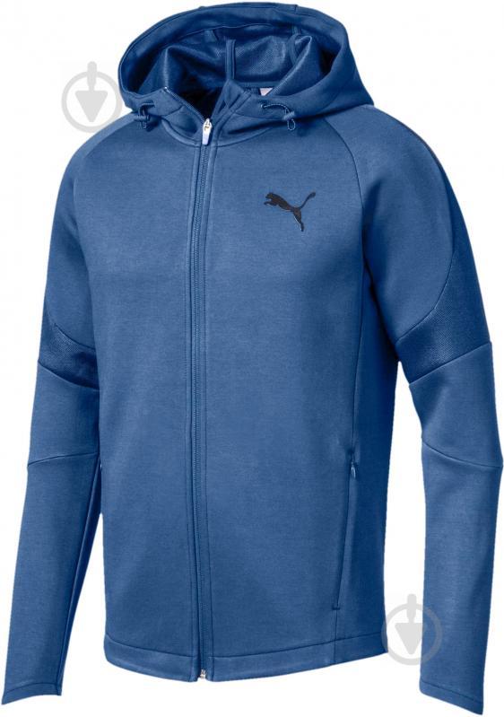 Джемпер Puma Evostripe Move FZ Hoody р. L синий 59491550 - фото 1