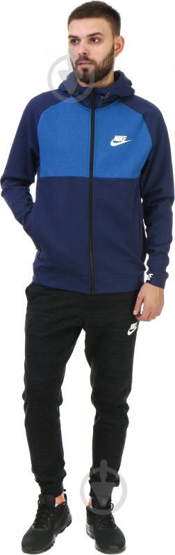 Худі Nike M NSW AV15 Hoodie FZ FLC AW1718 р. M синій 861742-429 - фото 4