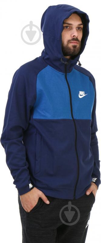 Худі Nike M NSW AV15 Hoodie FZ FLC AW1718 р. M синій 861742-429 - фото 2