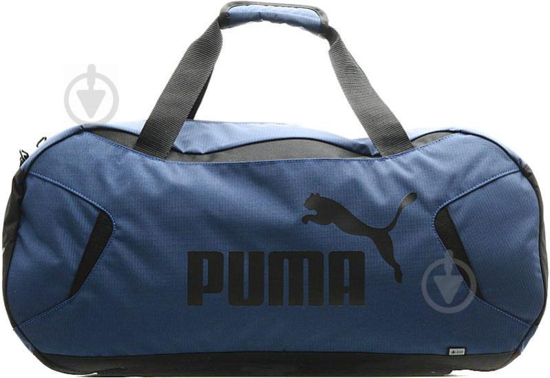 Сумка Puma 7522703 GYM Duffle Bag S 7522703 35 л синий - фото 1