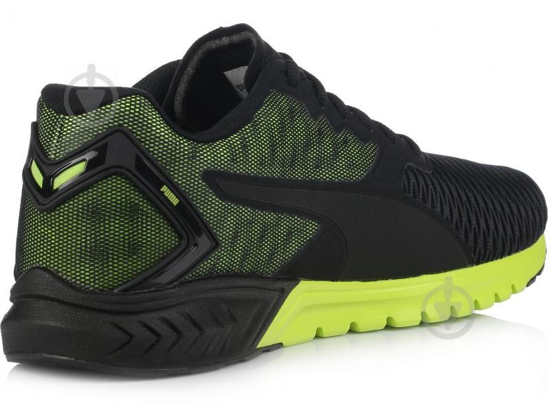 Кроссовки Puma IGNITE DUAL р. 10.5 черно-зеленый - фото 3
