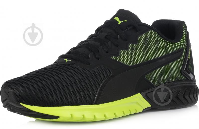 Кроссовки Puma IGNITE DUAL р. 10.5 черно-зеленый - фото 2