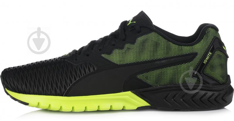 Кроссовки Puma IGNITE DUAL р. 10.5 черно-зеленый - фото 1