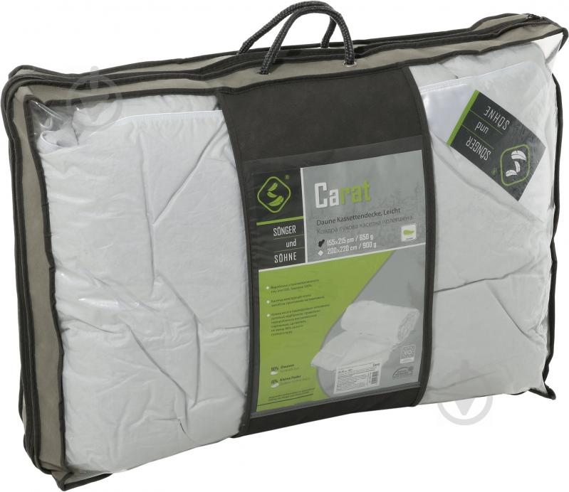 Одеяло пухо-перовое Carat 155x215 см Songer und Sohne - фото 2
