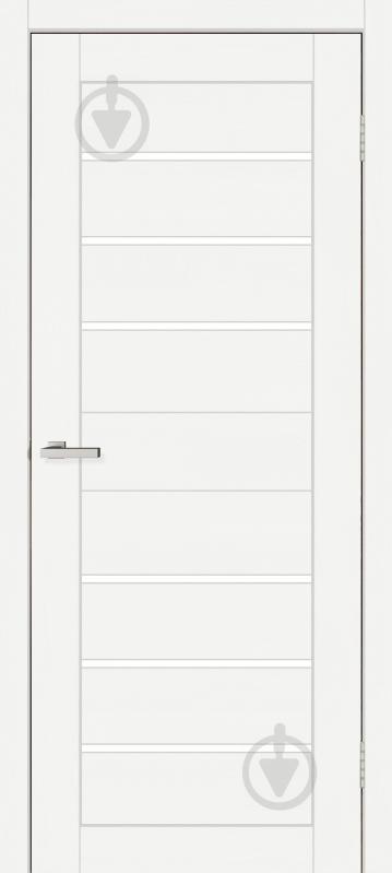 Дверне полотно ОМіС Lego 04 ПО 800 мм дуб білий