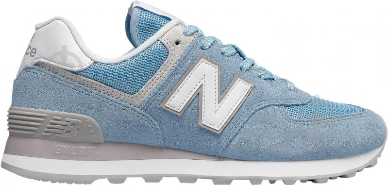 Кросівки New Balance WL574ESB р.7,5 блакитний - фото 1