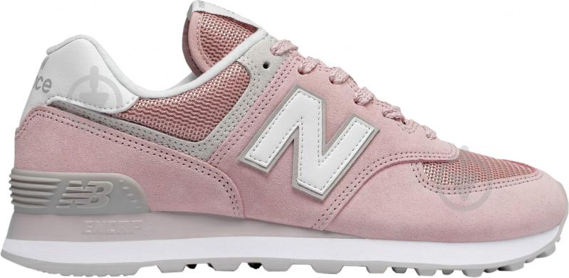 Кроссовки New Balance WL574ESP р.8,5 розовый - фото 1