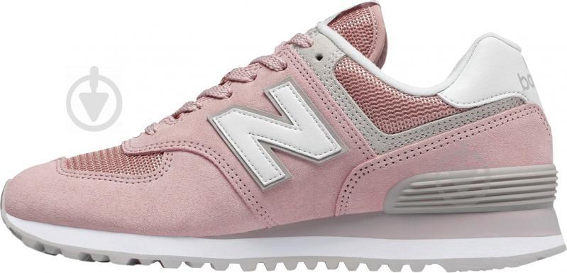 Кроссовки New Balance WL574ESP р.8,5 розовый - фото 2