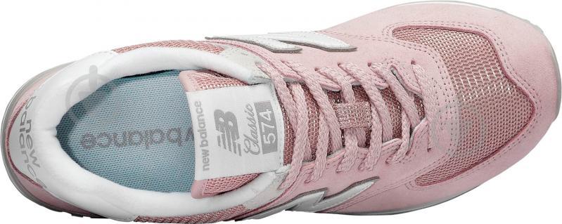 Кроссовки New Balance WL574ESP р.8,5 розовый - фото 3