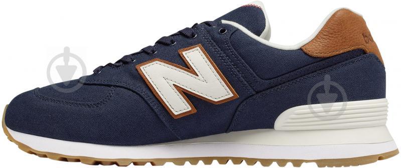 Кроссовки New Balance ML574YLC р. 9 синий - фото 2