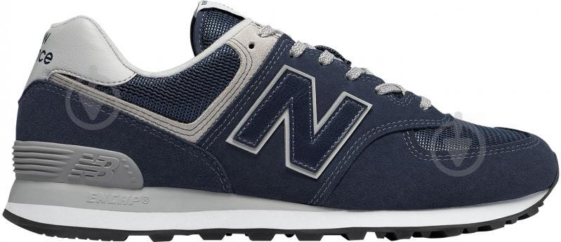 Кроссовки New Balance ML574EGN р. 9,5 синий - фото 1