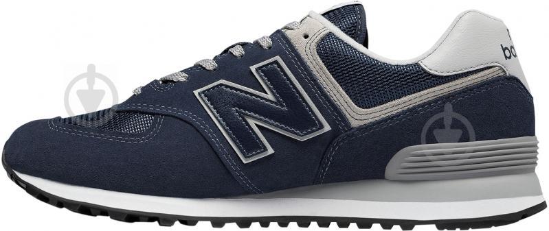 Кроссовки New Balance ML574EGN р. 9,5 синий - фото 2