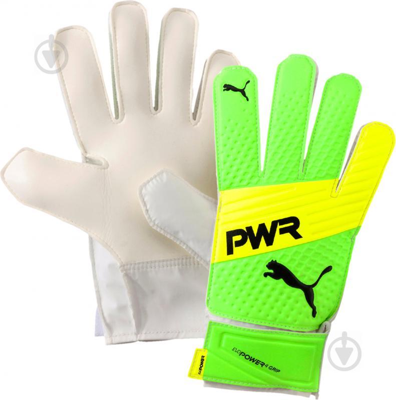 Вратарские перчатки Puma evoPOWER Grip 4.3 04122736 р. 9 - фото 1
