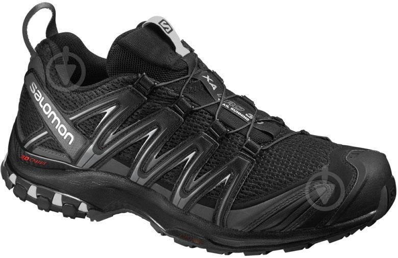 Кроссовки Salomon XA PRO 3D Bk/Magnet/Q L39251400 р.11,5 черный - фото 1