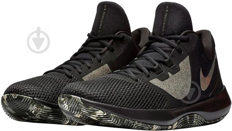 Кросівки Nike AIR PRECISION II AA7069-003 р.10 чорний - фото 1