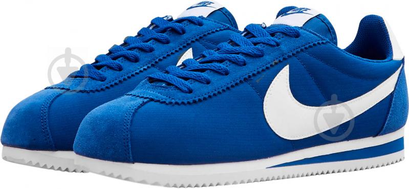 5cfcb01b Кроссовки Nike CLASSIC CORTEZ NYLON 807472-406 р.12,5 синий - фото