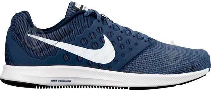 Кроссовки Nike DOWNSHIFTER 7 852459-400 р.10,5 синий - фото 1